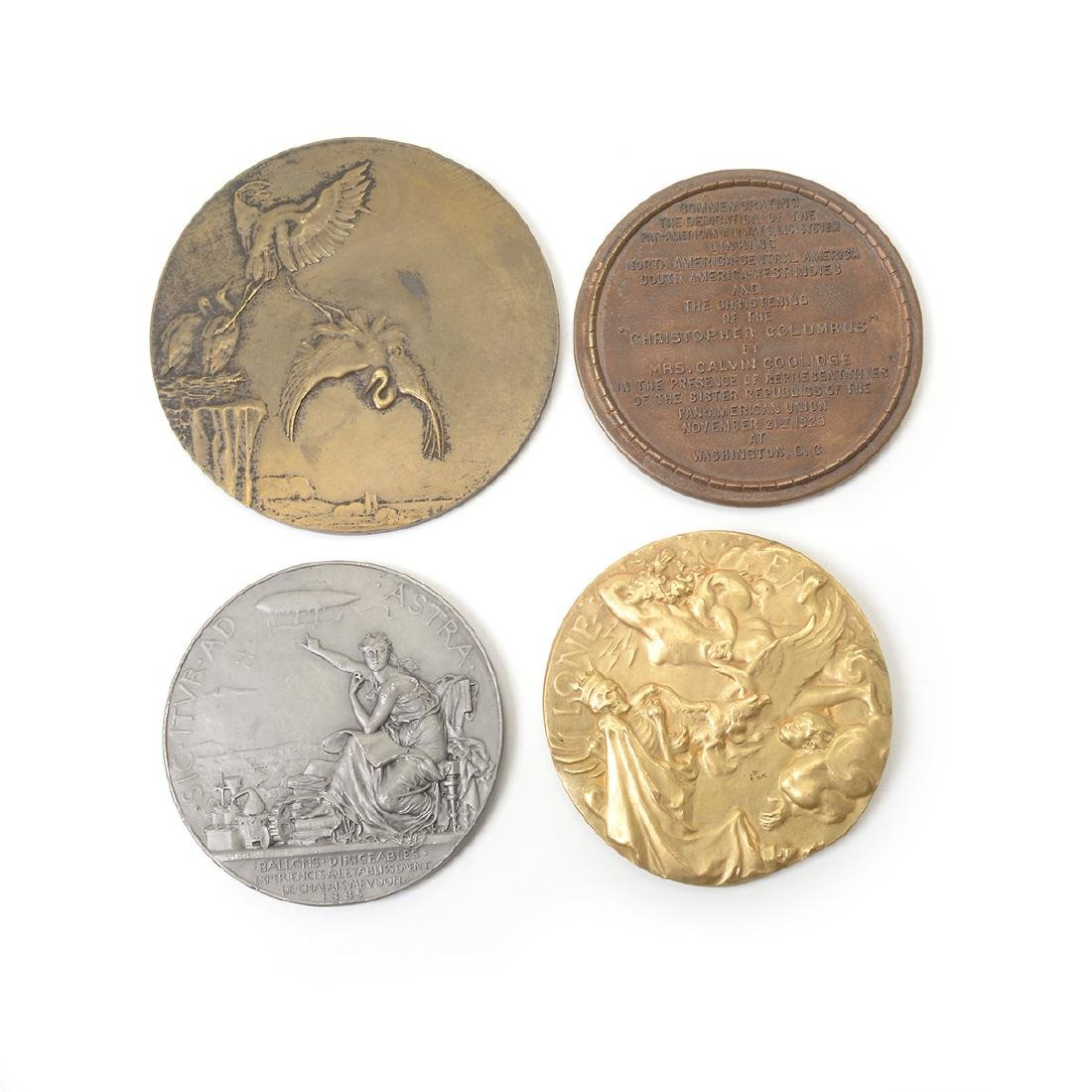 Group of Vintage Aviation Themed Medals - 8