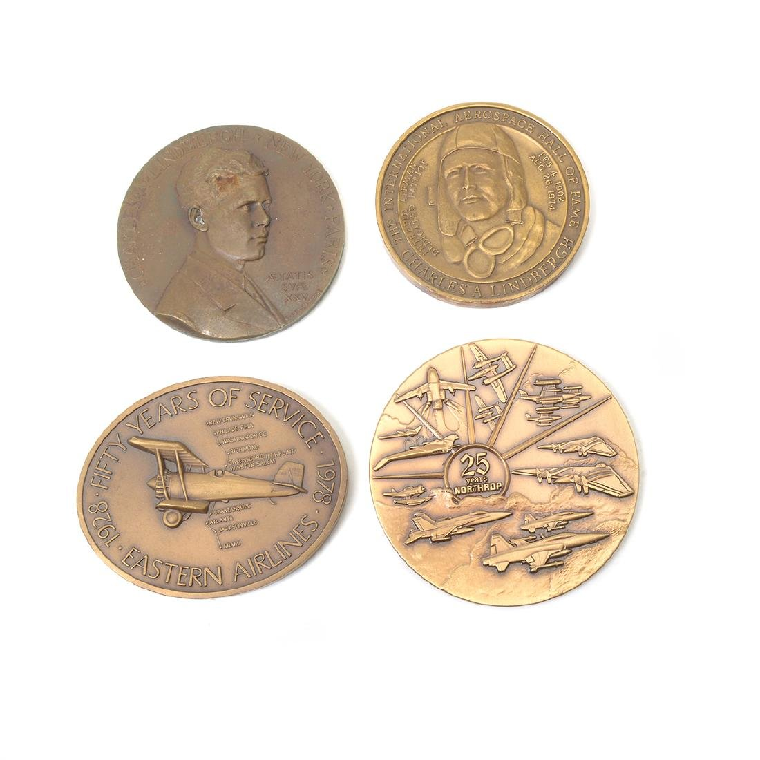 Group of Vintage Aviation Medals - 5