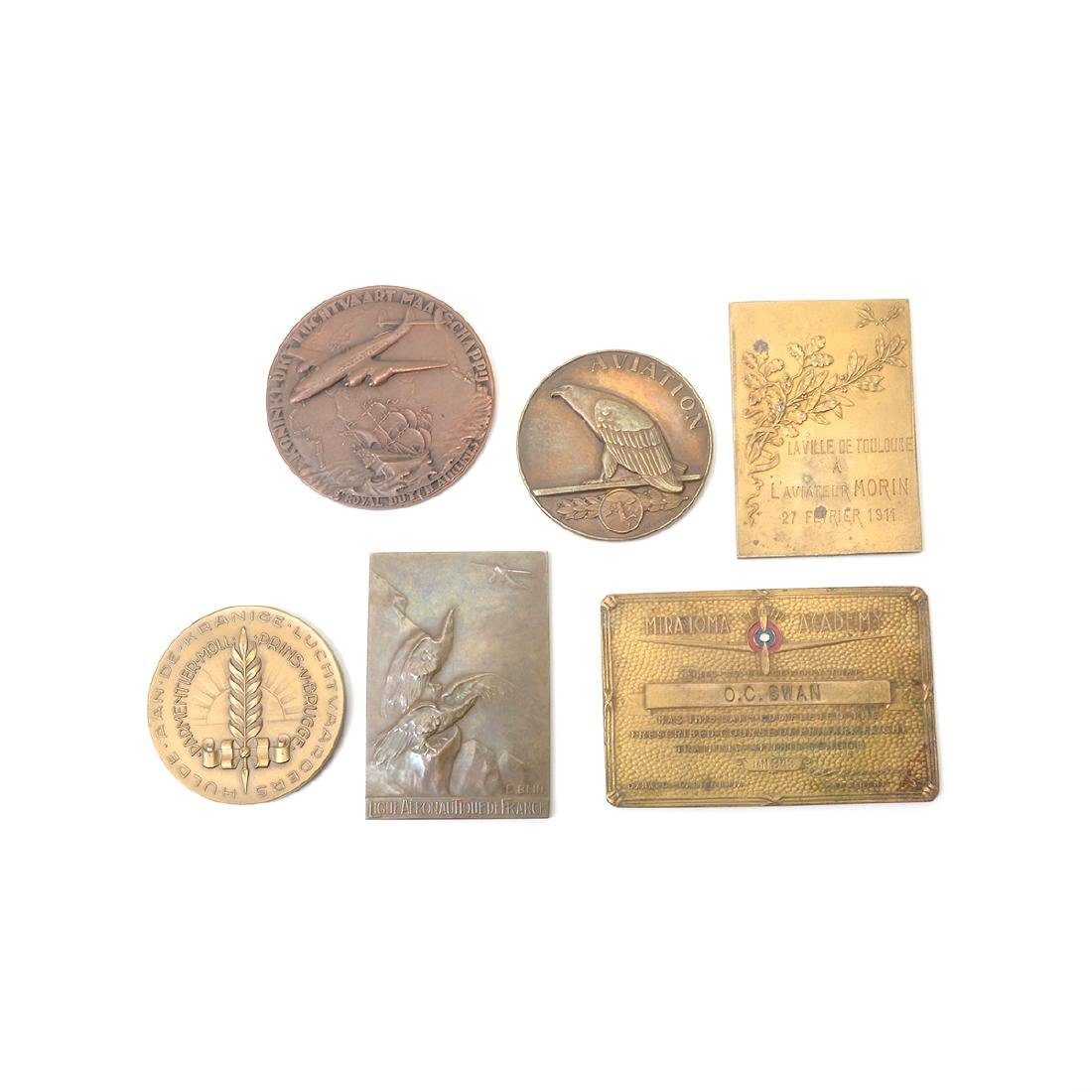 Collection of Aviation Metals - 4