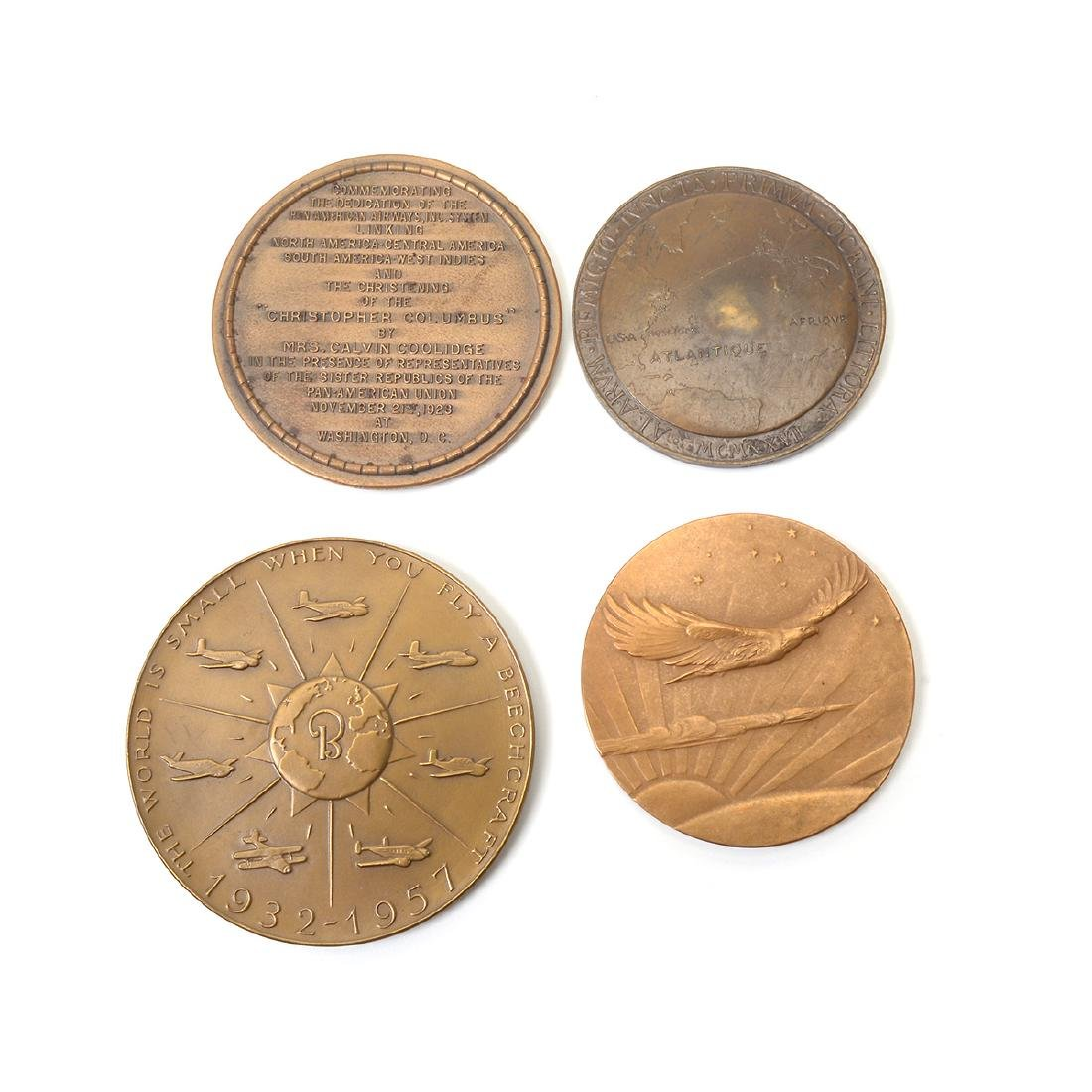 Group of Vintage Aviation Themed Medals - 7