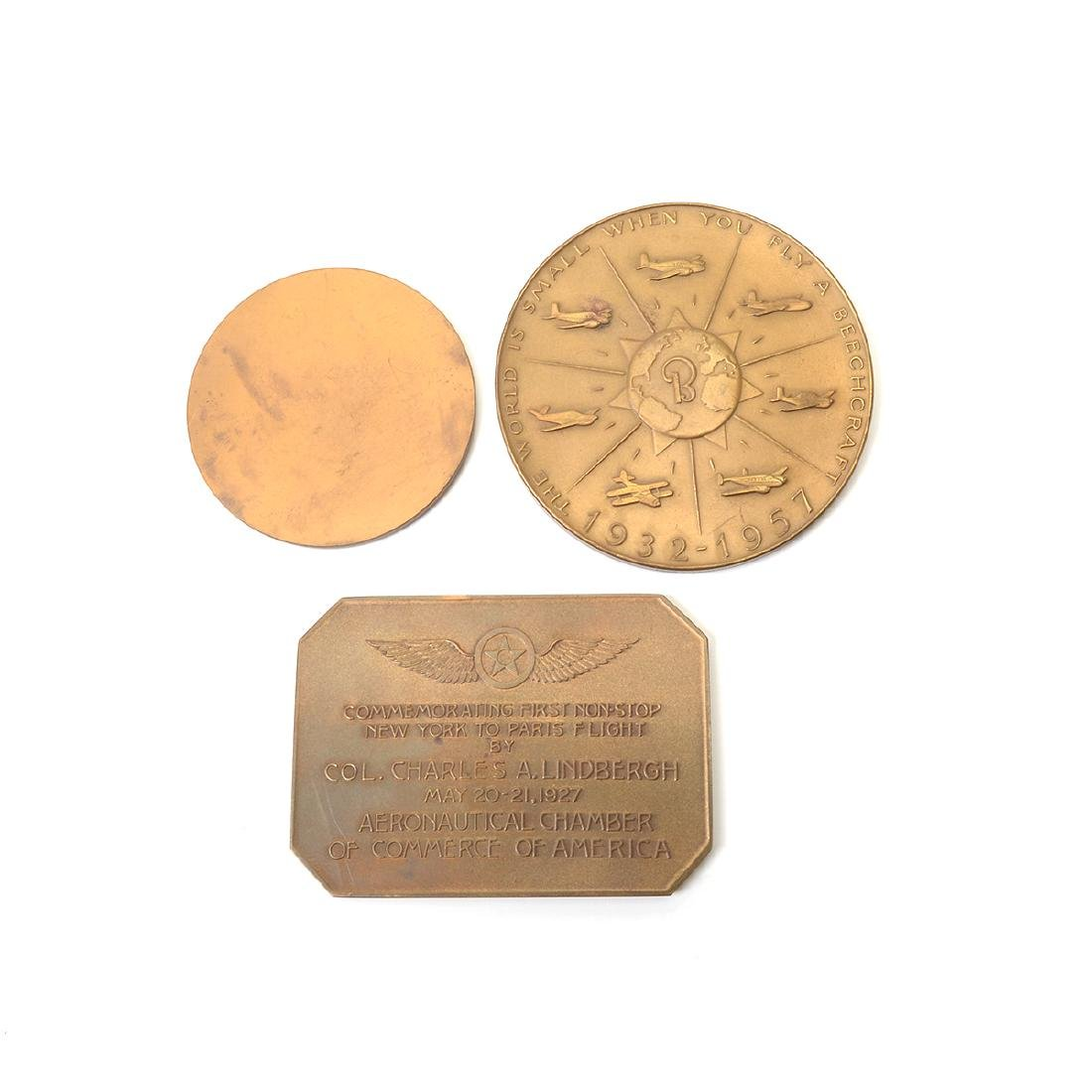 Group of Vintage Aviation Themed Medals - 9