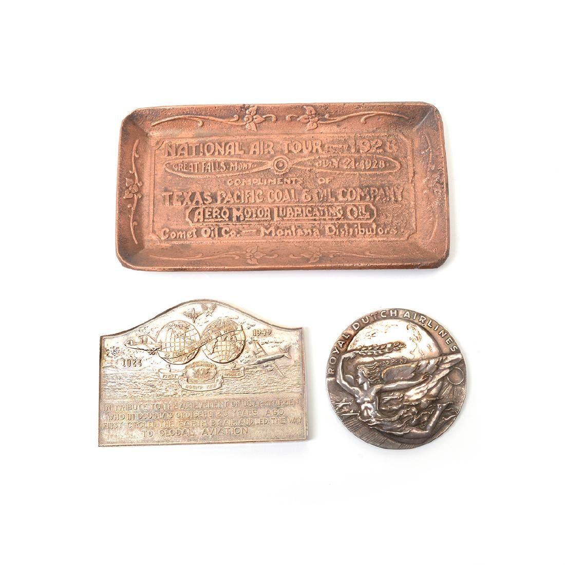 Group of Vintage Aviation Themed Medals - 3