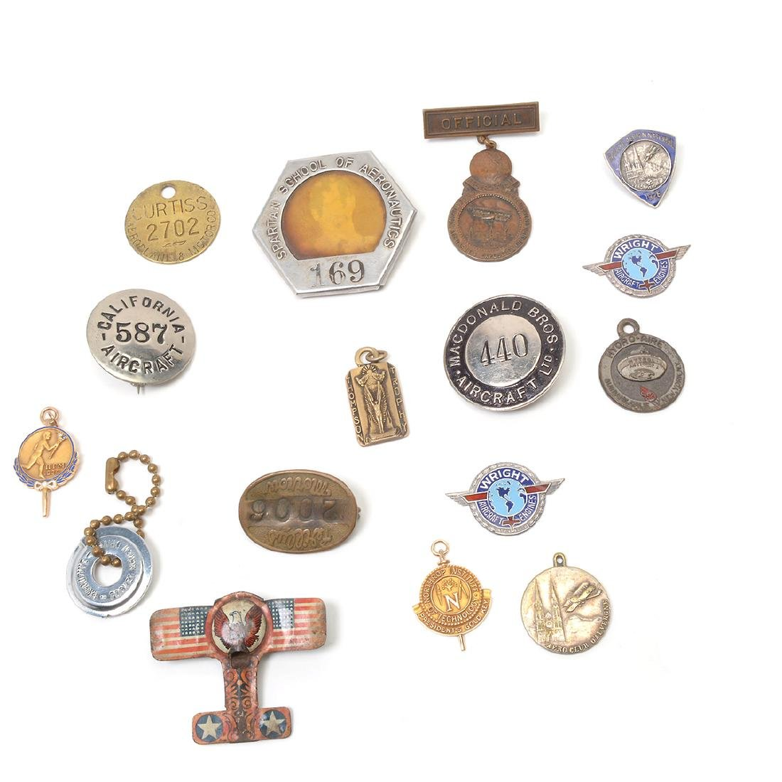 Collection of Aviation Badges, Pins and other - 4