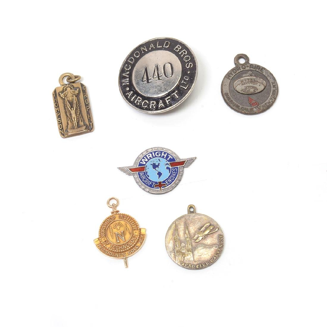Collection of Aviation Badges, Pins and other - 5