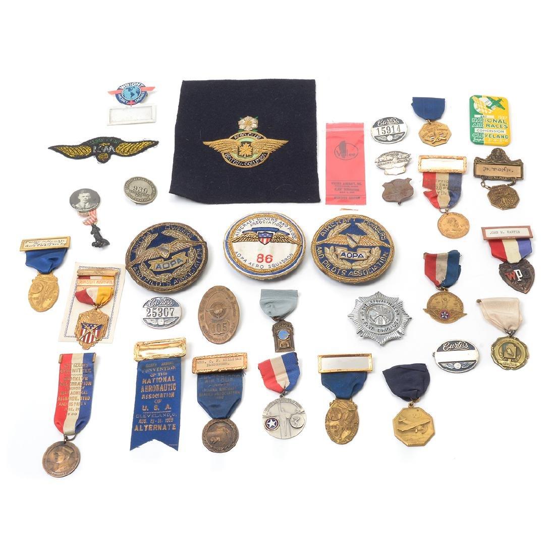 Assortment of Aviation Memorabilia