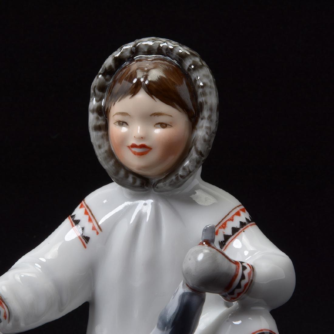 Pair of Lomonosov Porcelain Figures - 5