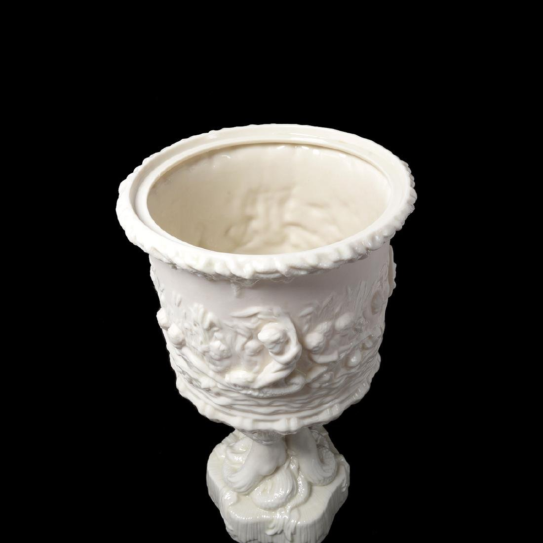 Belleek Prince of Wales Ice Bucket, with Lid - 5