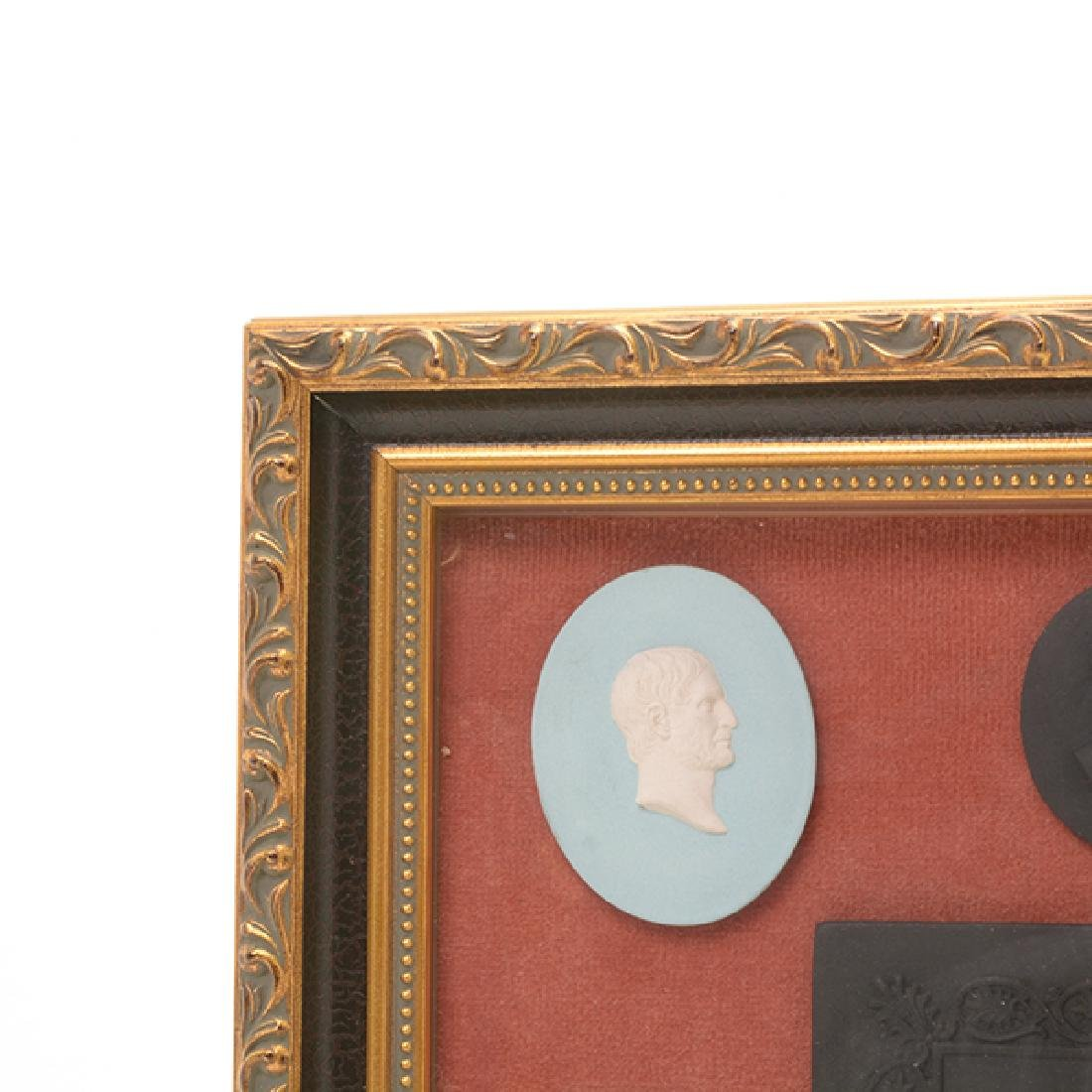 Collection of Jasperware Medallions and Plaque - 3