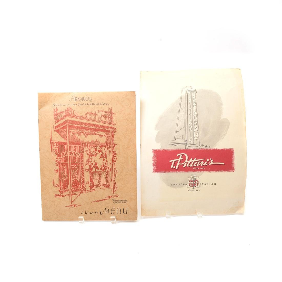 Lot of Menus From New Orleans - 2
