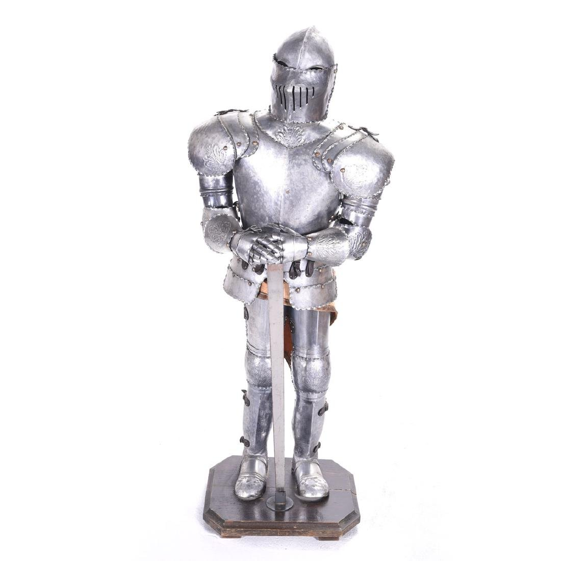 Suite of Life Size Armor