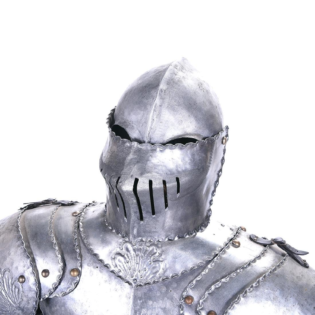 Suite of Life Size Armor - 2