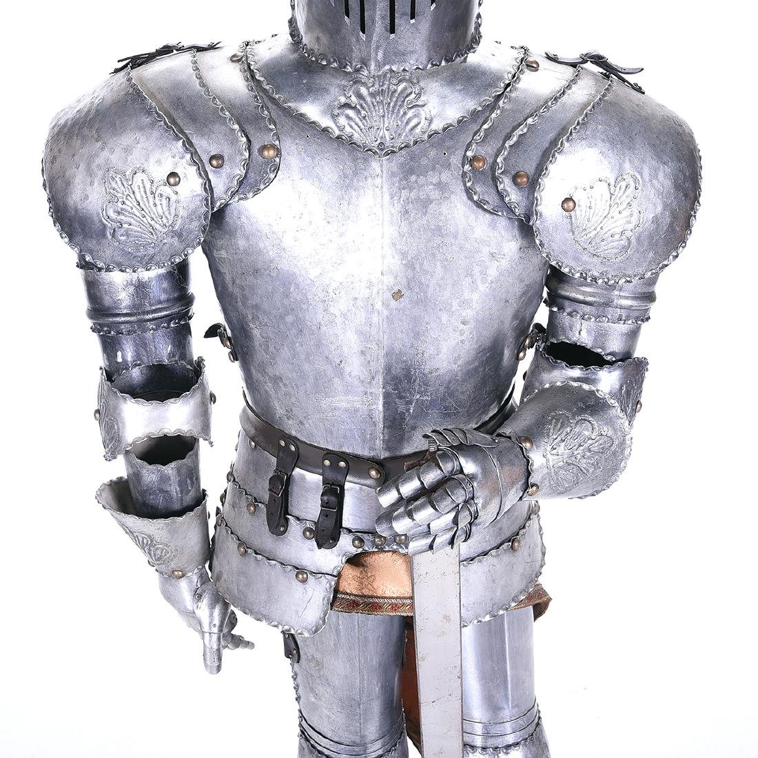 Suite of Life Size Armor - 3