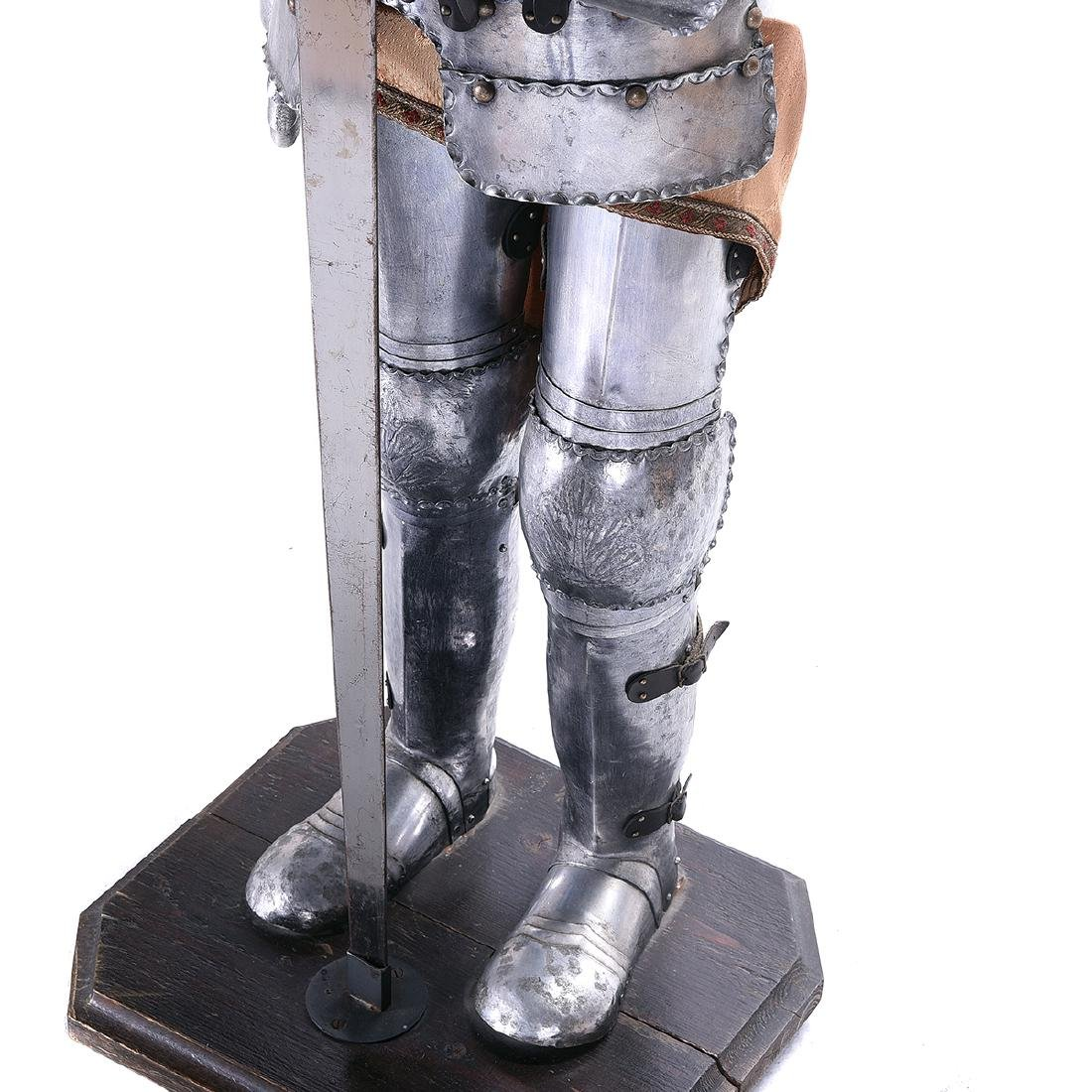 Suite of Life Size Armor - 4