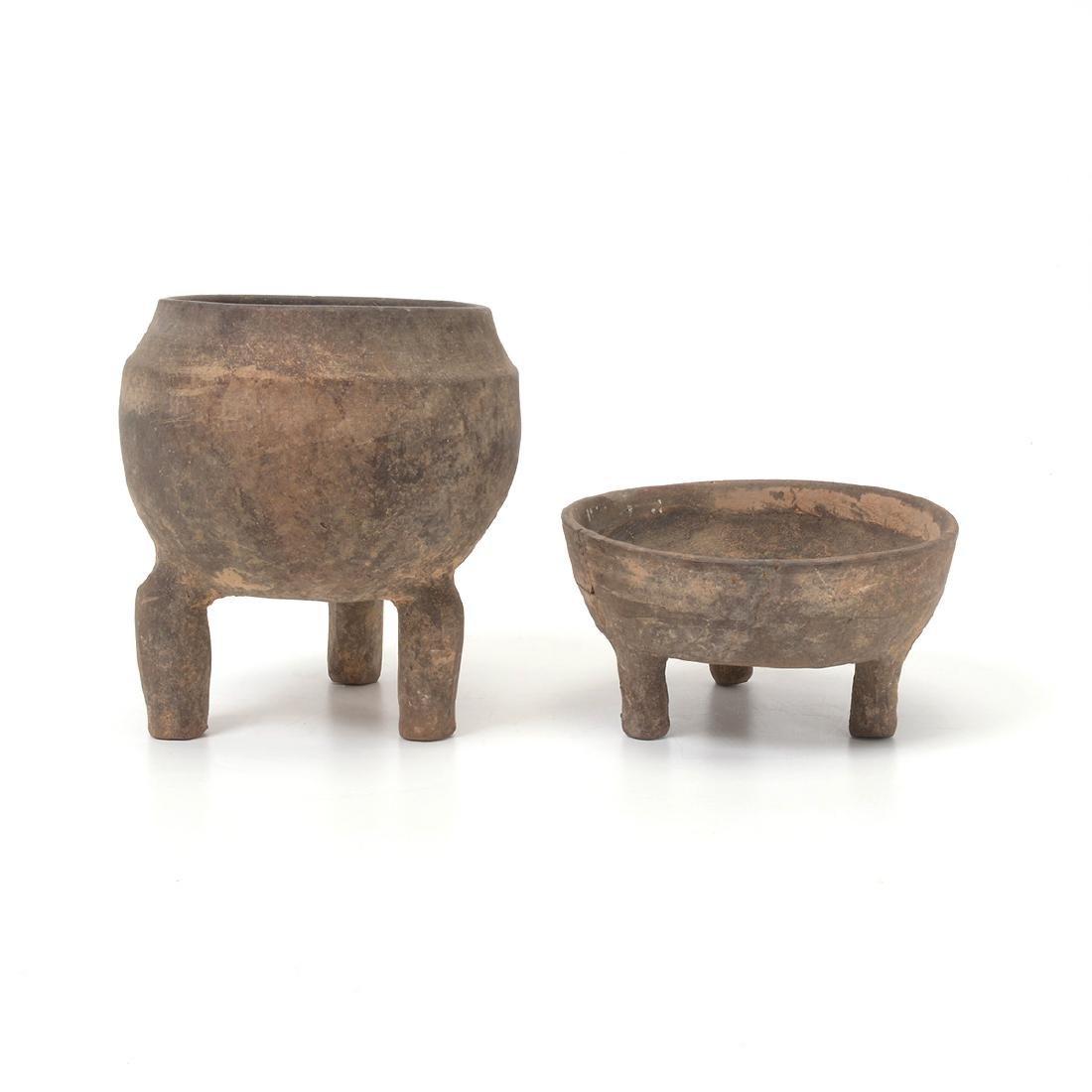 Pottery Tripod Vessel and Lid, Western Zhou Dynasty - 3