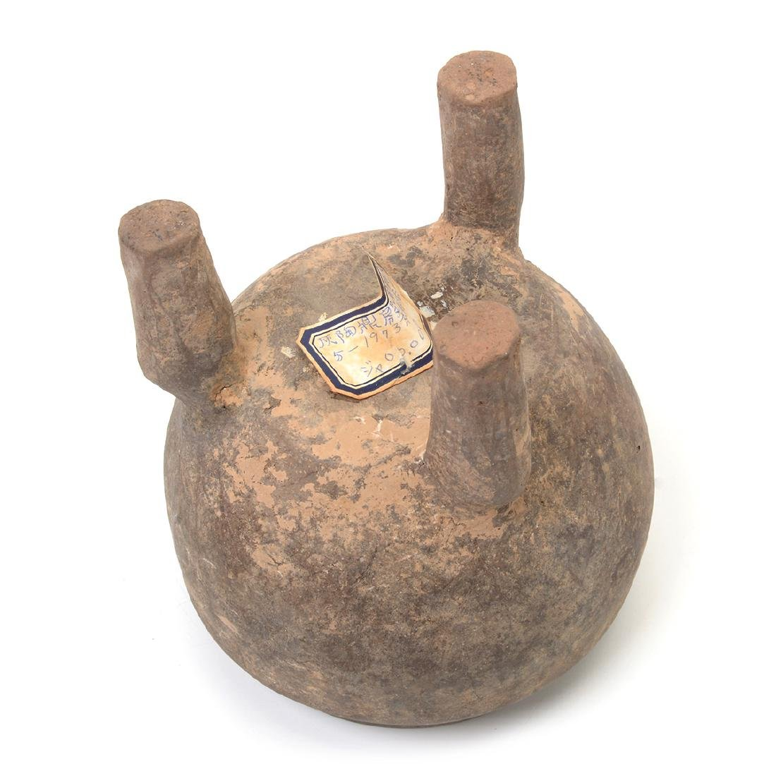 Pottery Tripod Vessel and Lid, Western Zhou Dynasty - 6