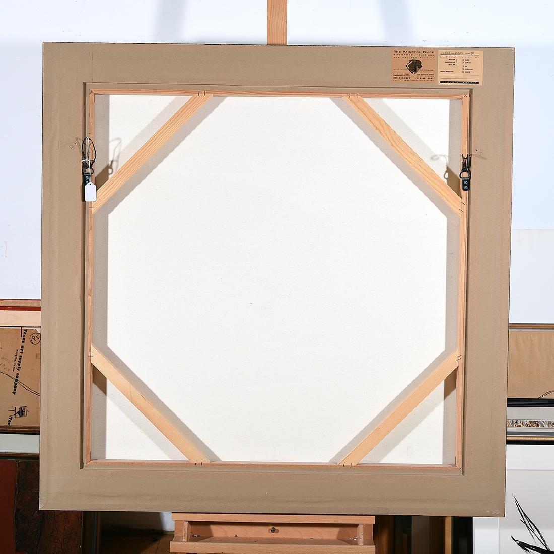"""Ralph Borge """"Hillside Farm"""" oil on canvas - 5"""