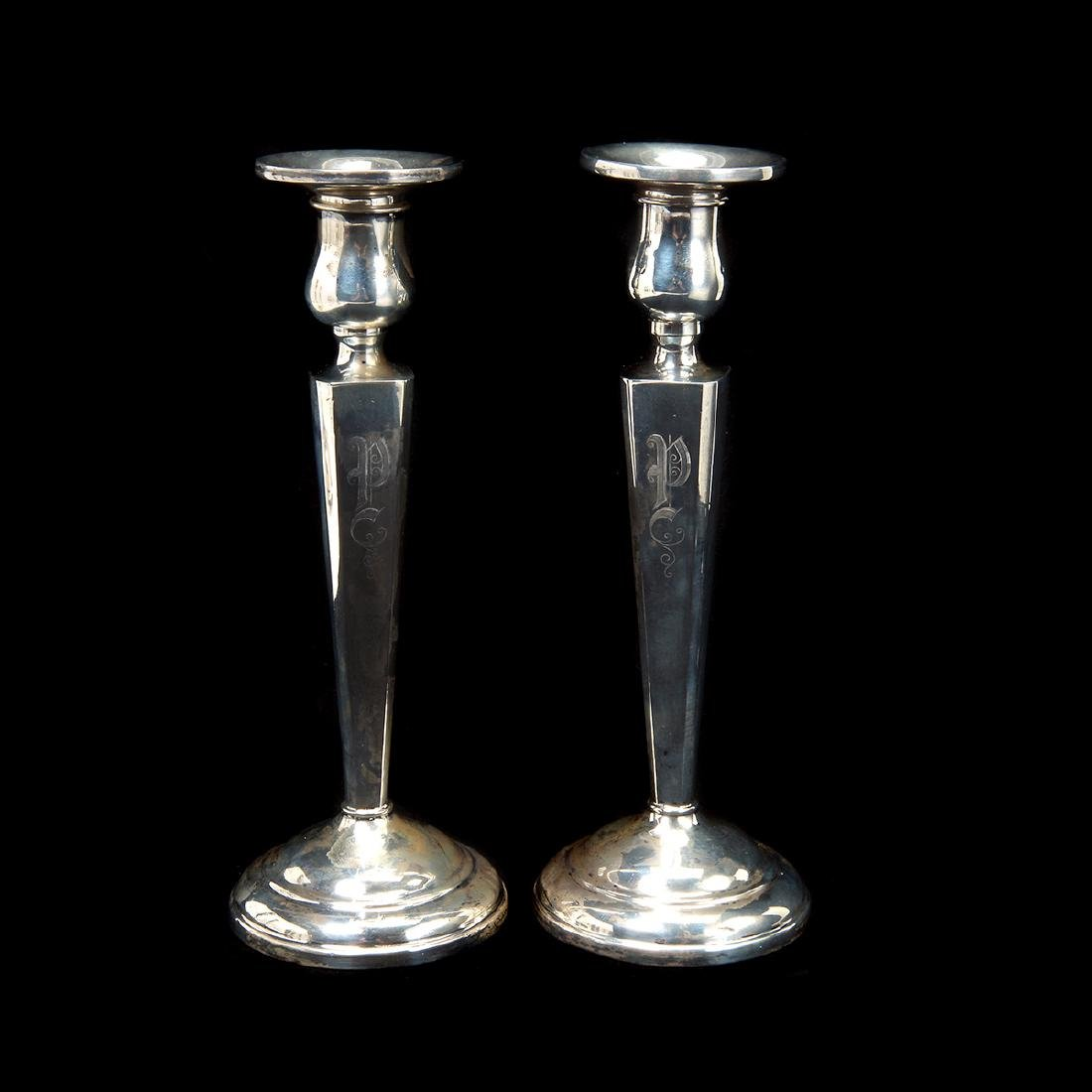 Nine Sterling Table Articles - 2
