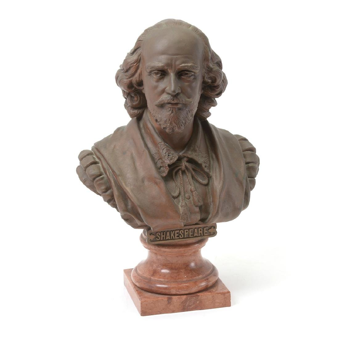 Bronze Bust of Shakespeare