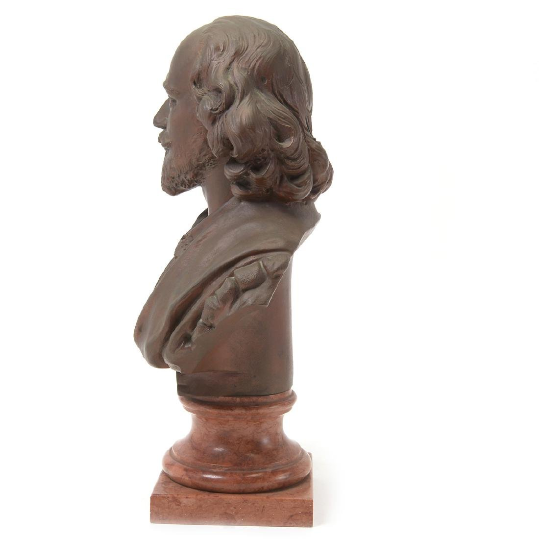 Bronze Bust of Shakespeare - 2