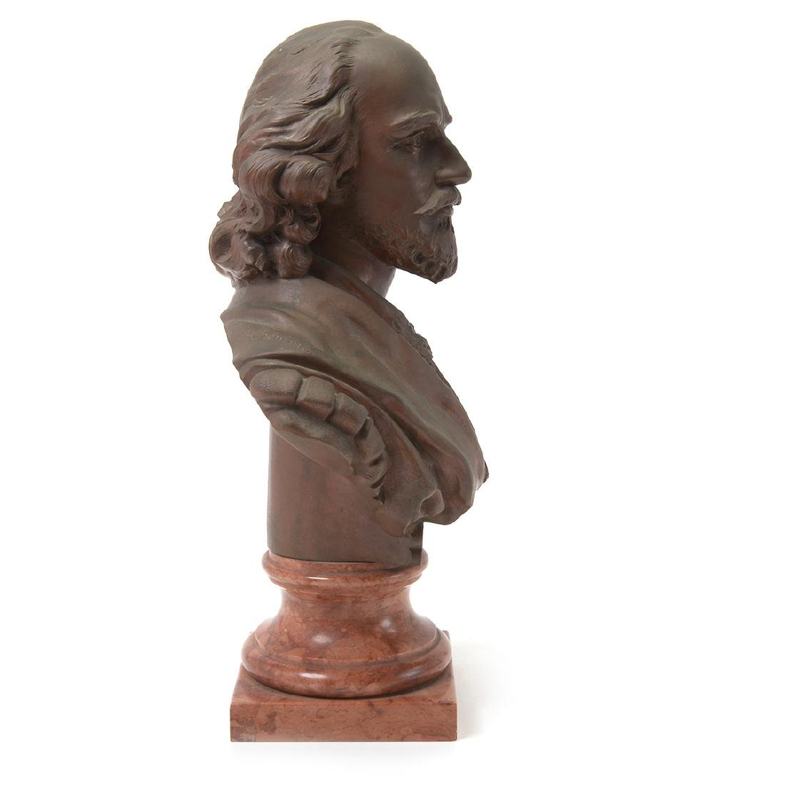 Bronze Bust of Shakespeare - 5