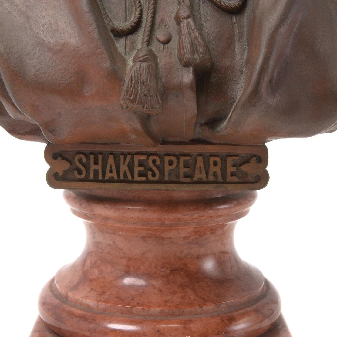Bronze Bust of Shakespeare - 6