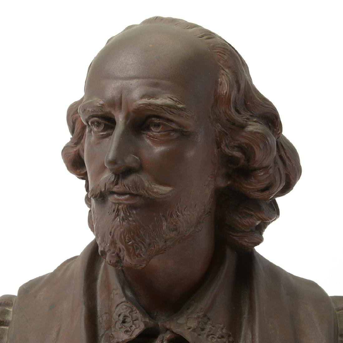 Bronze Bust of Shakespeare - 7