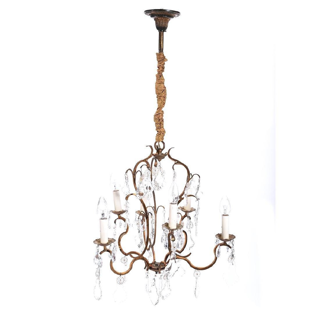 Louis XV Style Bird Cage Chandelier