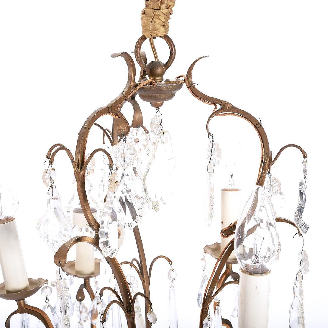 Louis XV Style Bird Cage Chandelier - 2