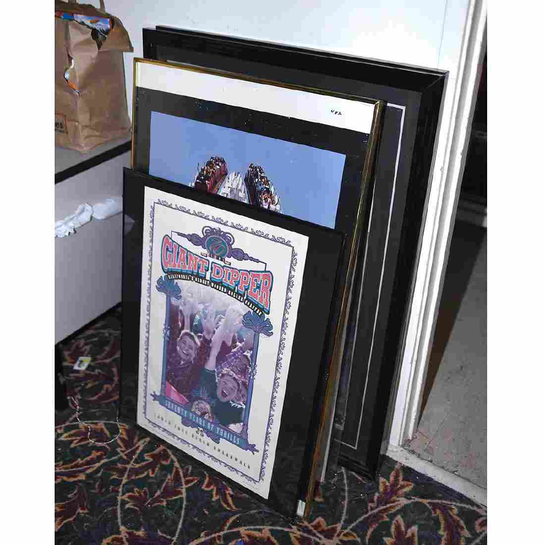 Group of Framed Prints and Photos, Including Robert