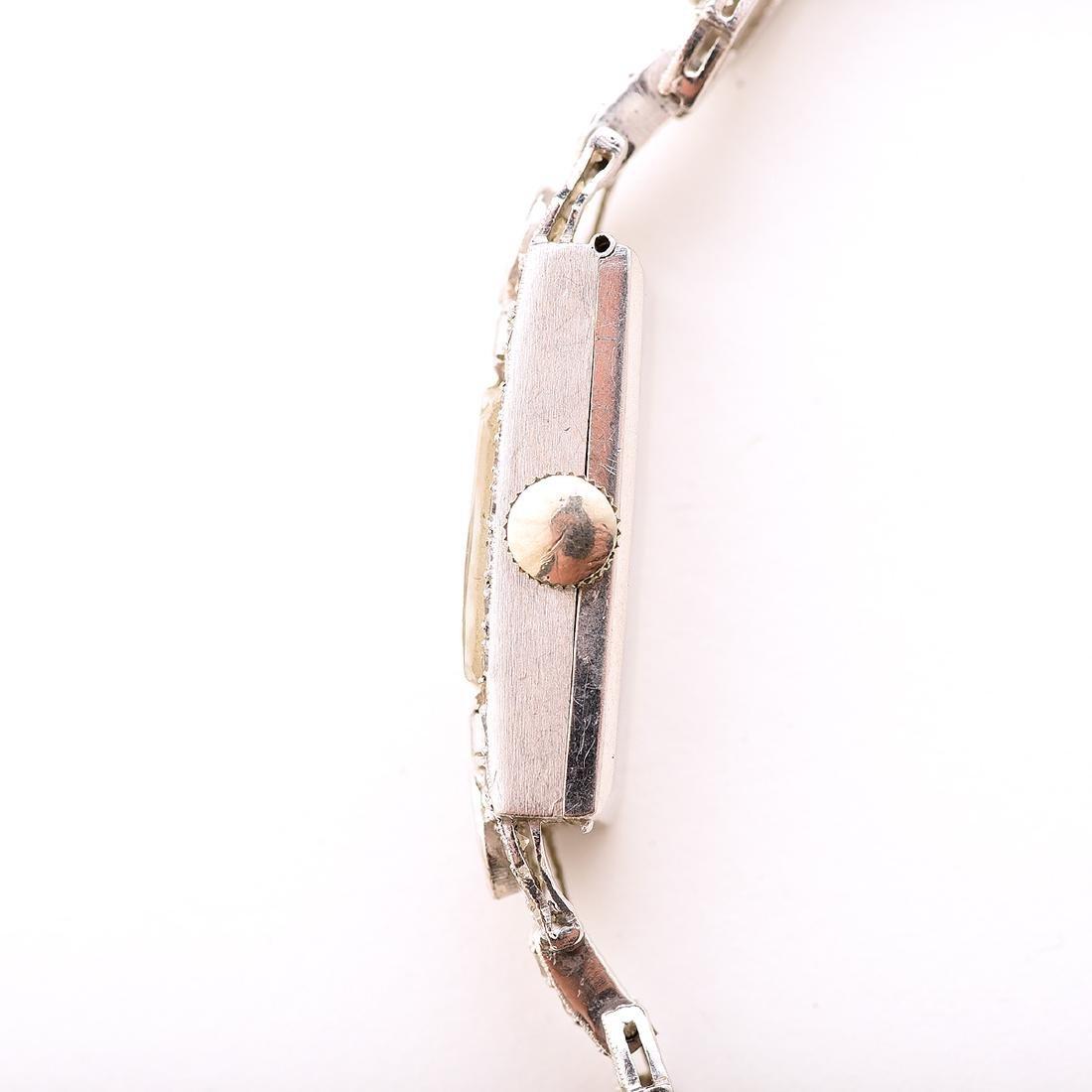 Ladies Croton Diamond, Platinum, 14k White Gold - 3
