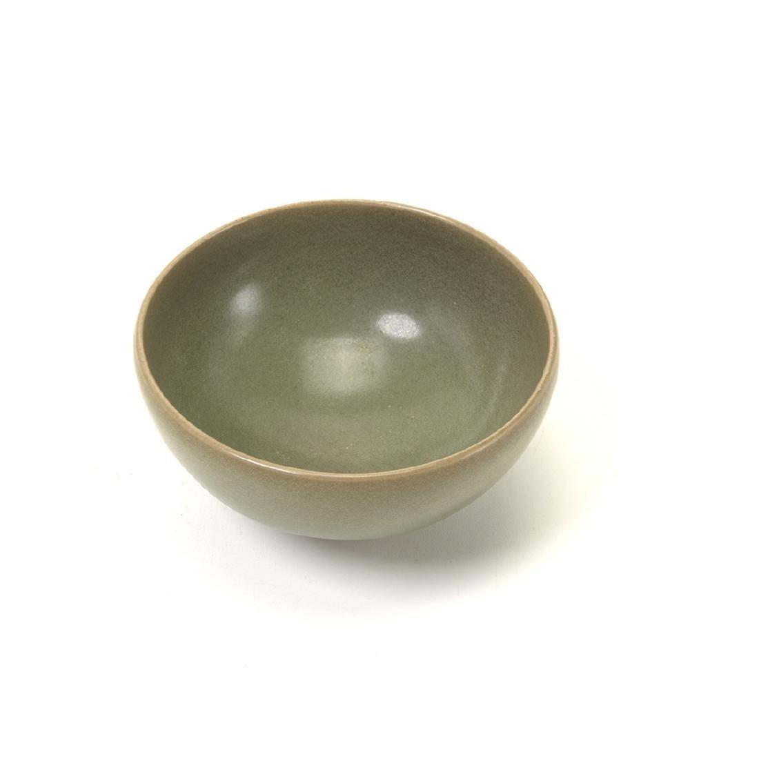 Small Jun Type Celadon Glazed Tea Bowl, Song - 2