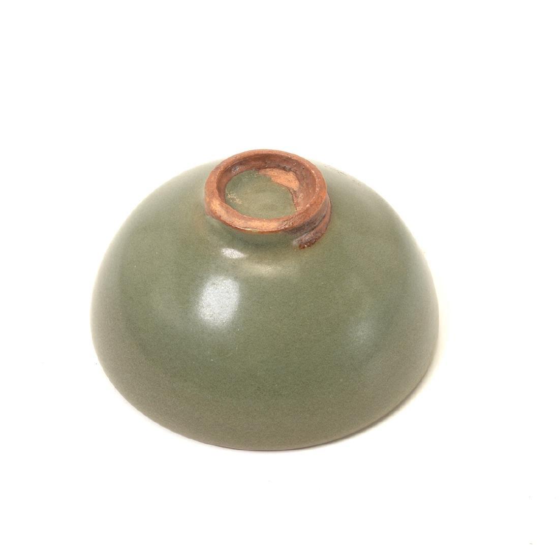 Small Jun Type Celadon Glazed Tea Bowl, Song - 3