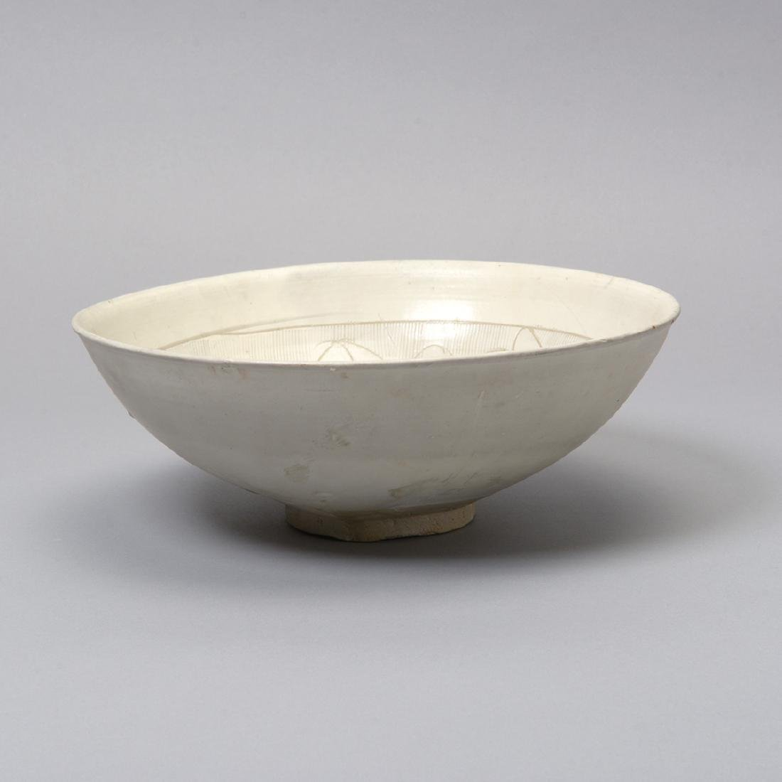 Three Glazed Ceramic Deep Bowls, Song Dynasty - 2