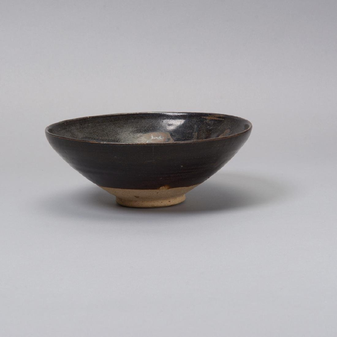 Three Glazed Ceramic Deep Bowls, Song Dynasty - 4