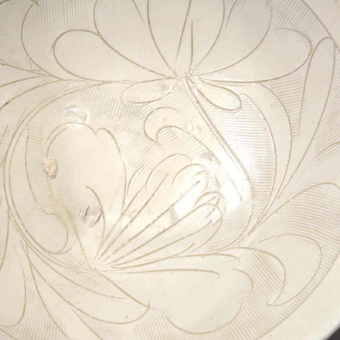 Three Glazed Ceramic Deep Bowls, Song Dynasty - 9