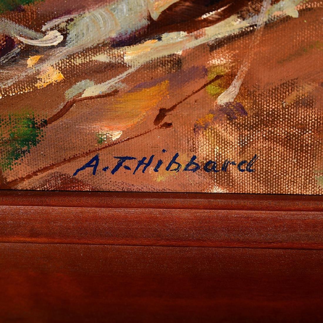 """Aldro Hibbard """"Fall Landscape"""" oil on canvas - 2"""