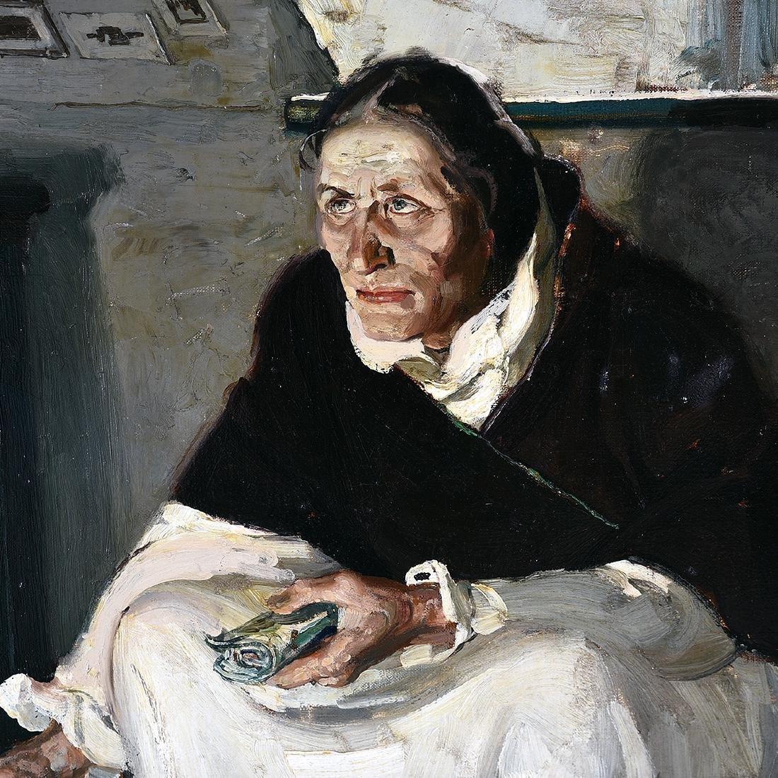 "Rico Tomaso ""Haunted"" oil on canvas - 3"