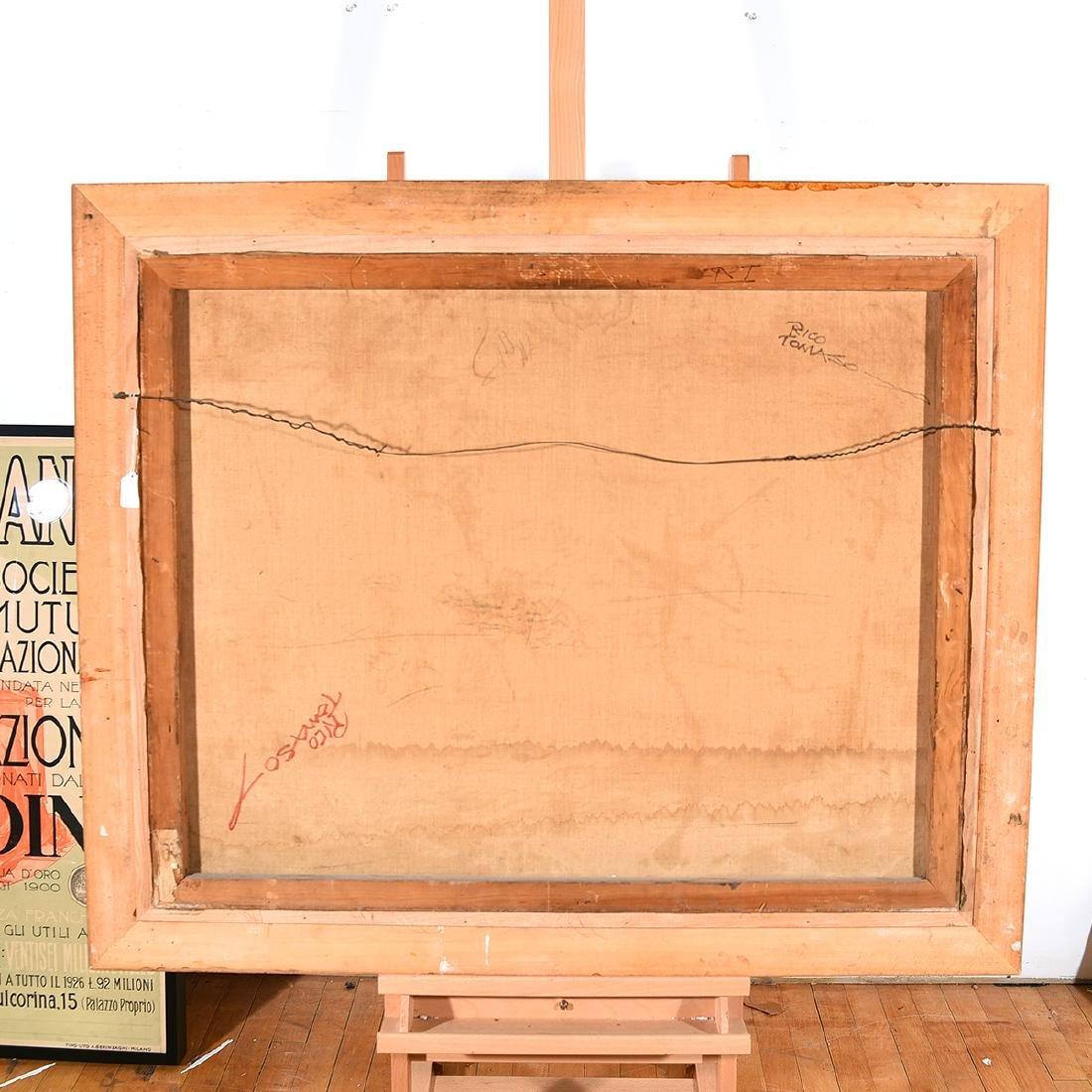 "Rico Tomaso ""Haunted"" oil on canvas - 5"