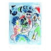 Marc Chagall Frontispiece for Chagall lithographe