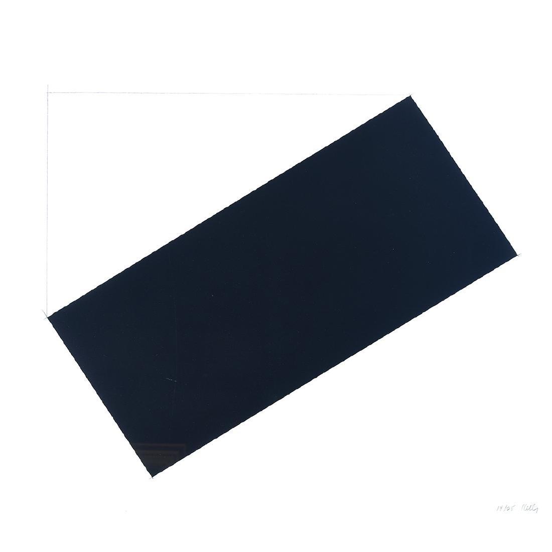 "Ellsworth Kelly ""Bordrouant"" lithograph"