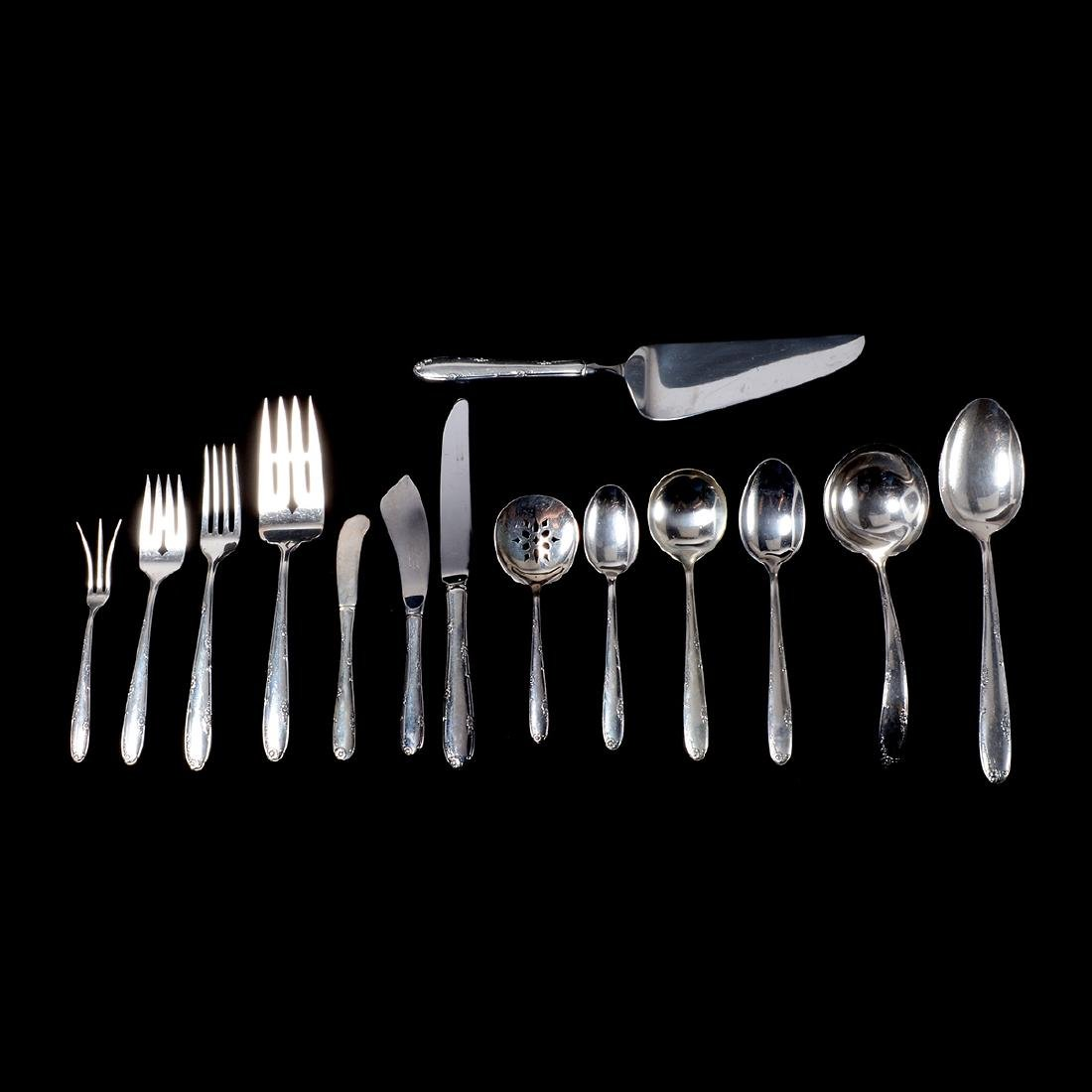 Partial Towle Madeira Sterling Flatware Set (Total