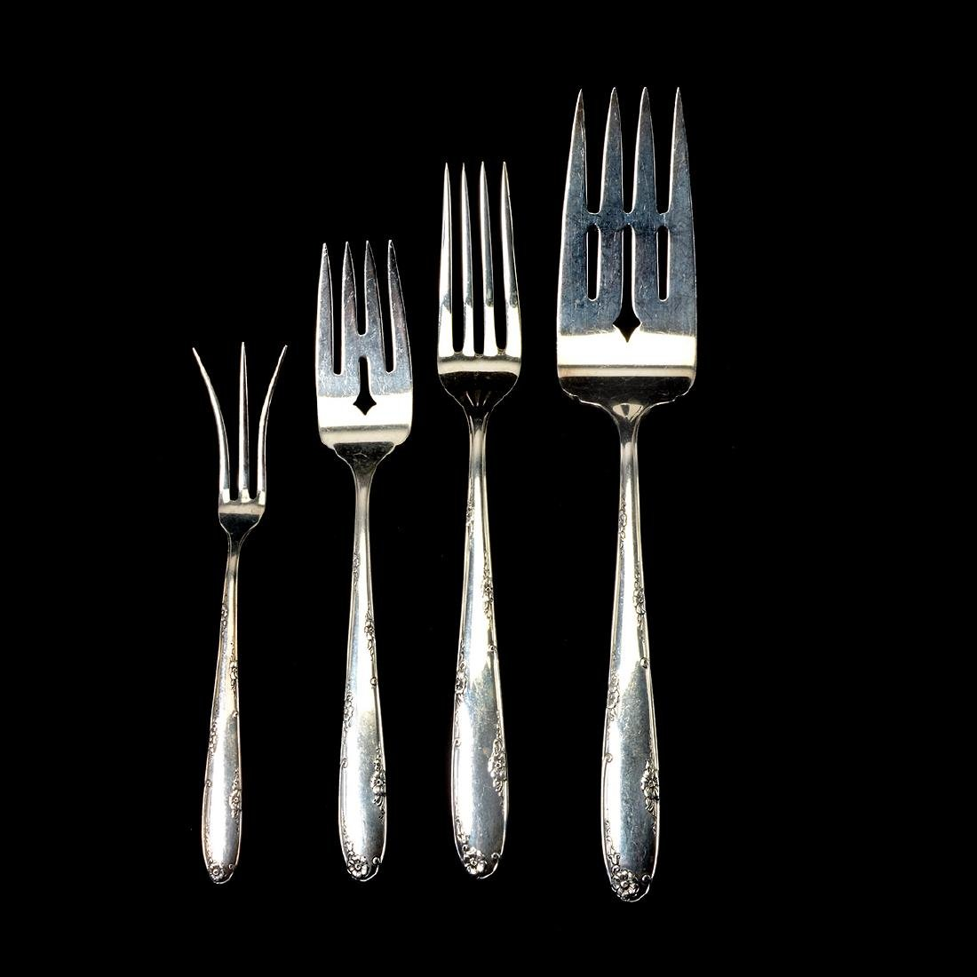 Partial Towle Madeira Sterling Flatware Set (Total - 6