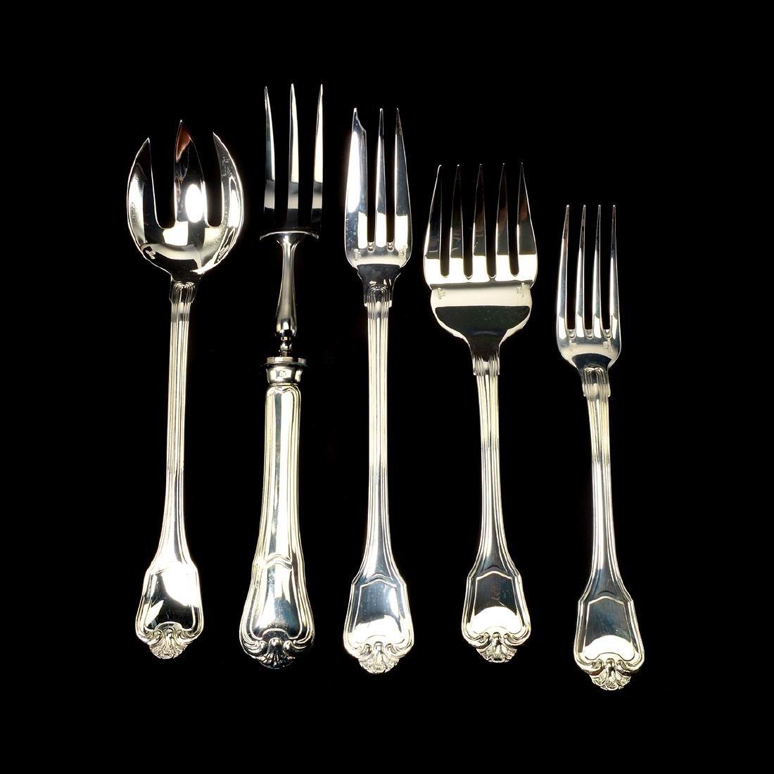 Christofle Silver-Plate Flatware, Case [144 pcs] - 6