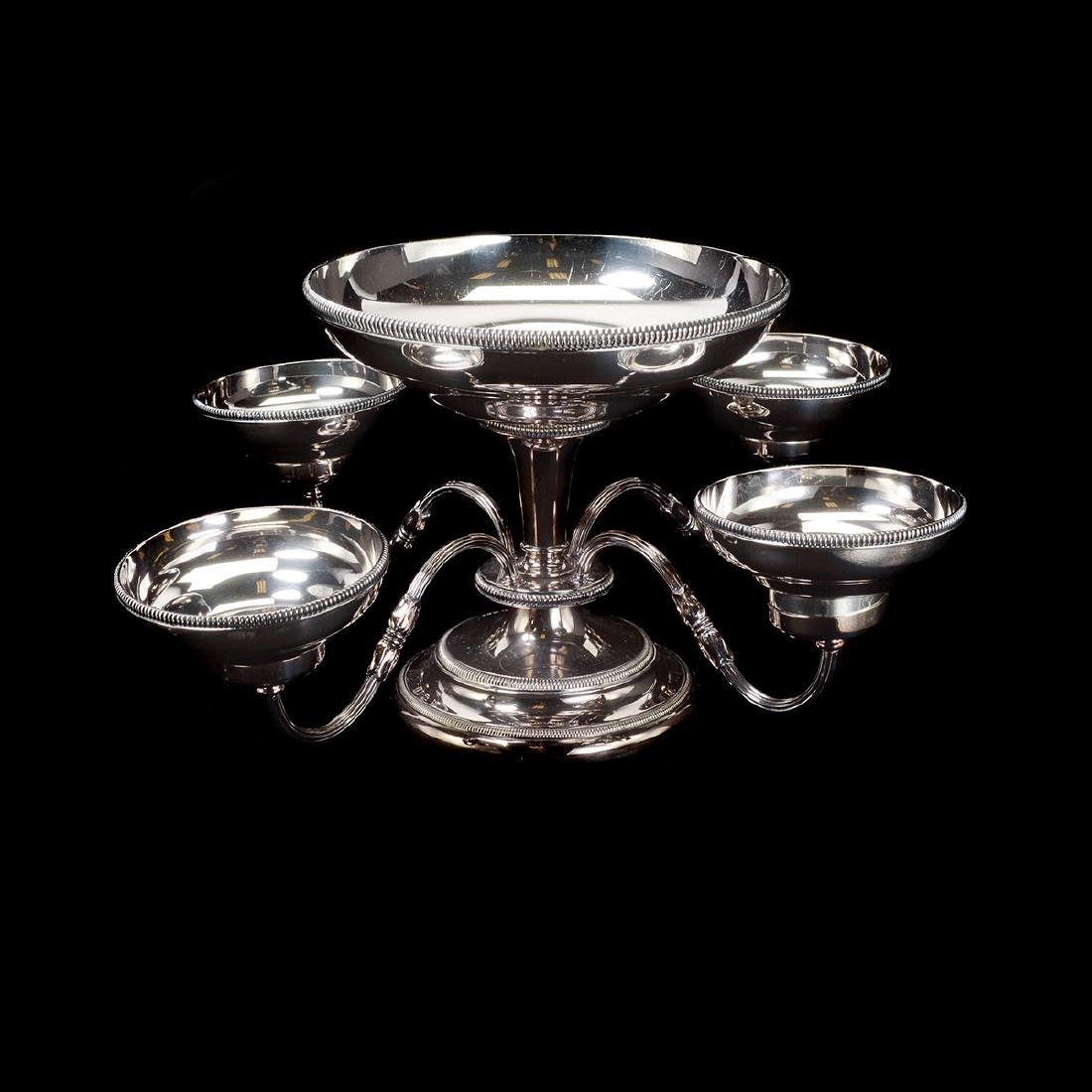 Silverplate Epergne