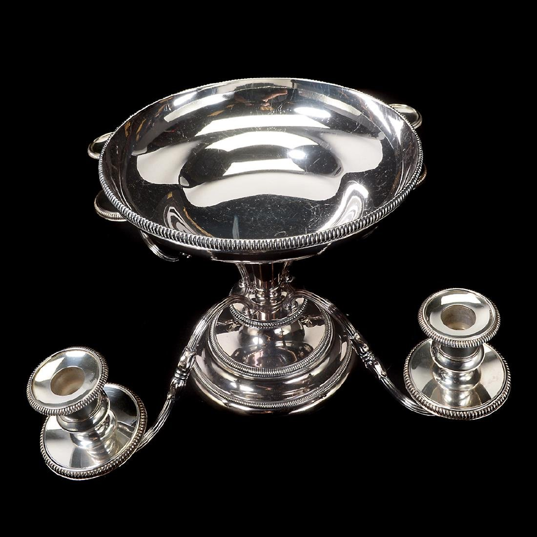 Silverplate Epergne - 7