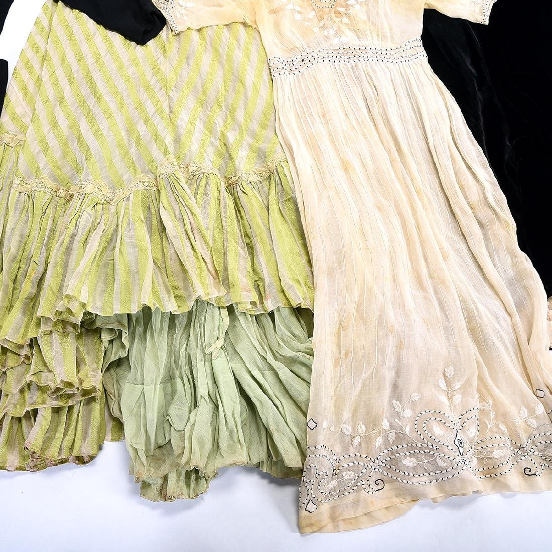 Lot of Antique Clothing - 5