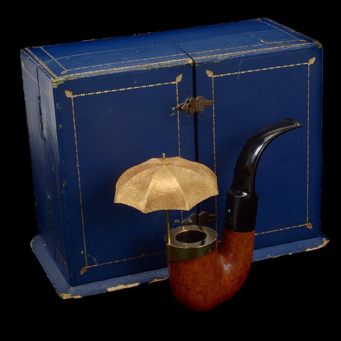 Dunhill Umbrella Pipe with Presentation Box