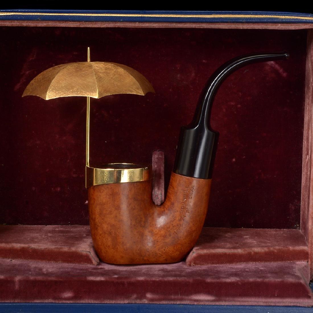 Dunhill Umbrella Pipe with Presentation Box - 2