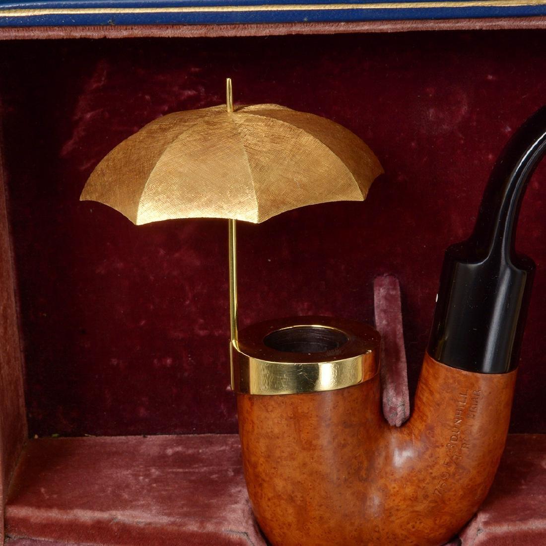 Dunhill Umbrella Pipe with Presentation Box - 3