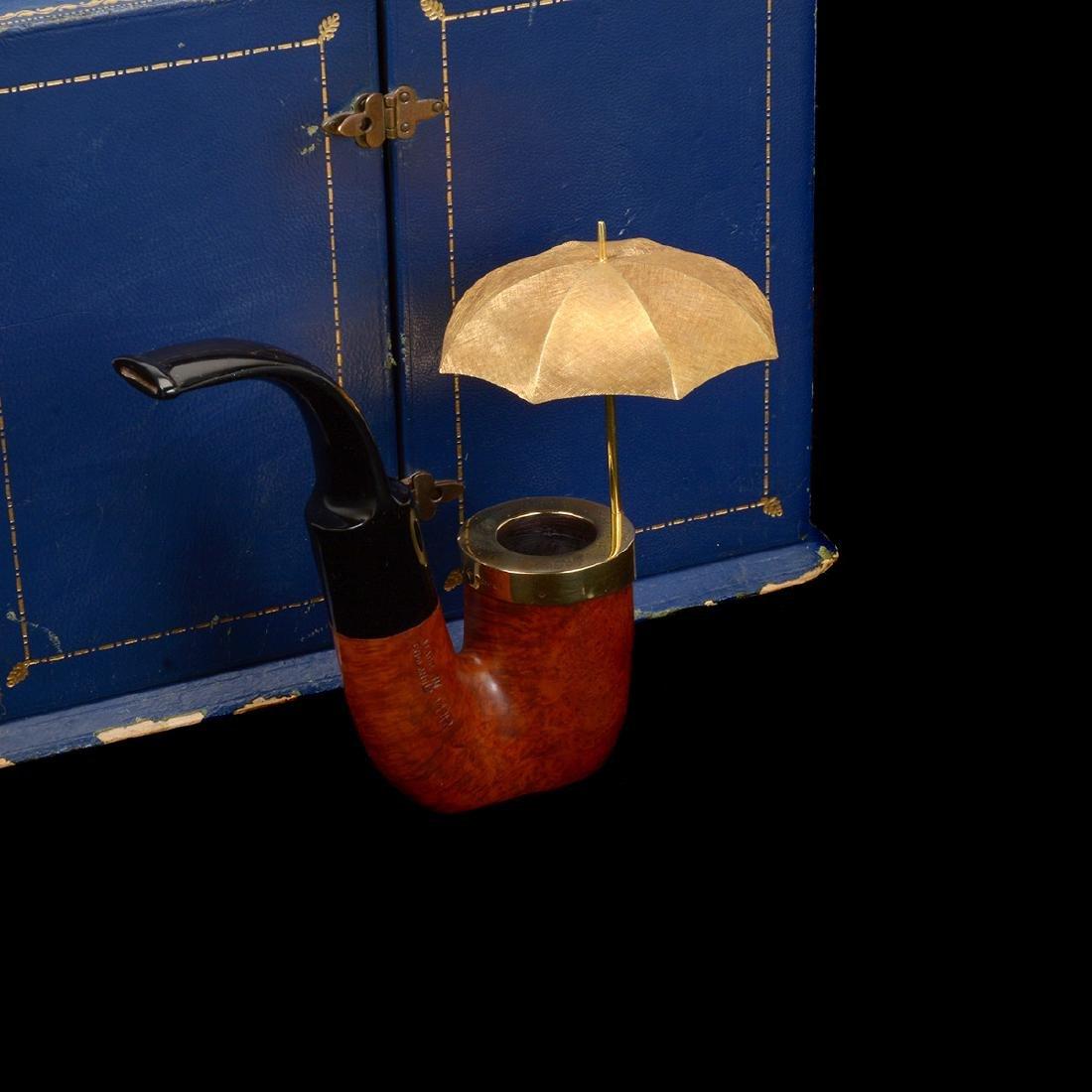 Dunhill Umbrella Pipe with Presentation Box - 6